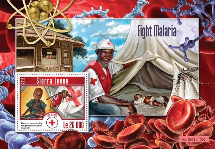 SRL15211b Fight Malaria (Malaria is transmitted by mosquitoes of the genus Anopheles)