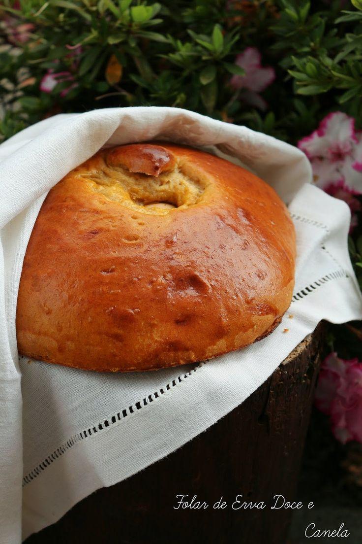 Hoje para jantar ...: Folar de Erva Doce e Canela
