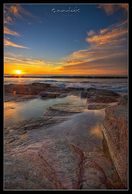 ✯ Sunset over Marino Rocks - South Australia