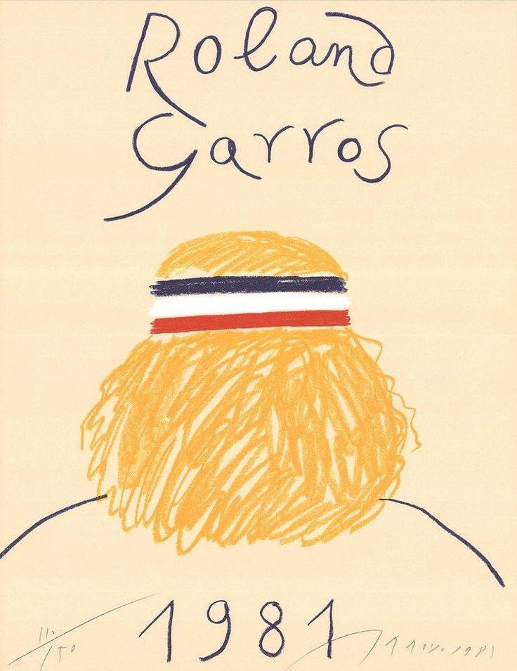 Eduardo Arroyo - Eduardo Arroyo-Roland Garros French Open ...