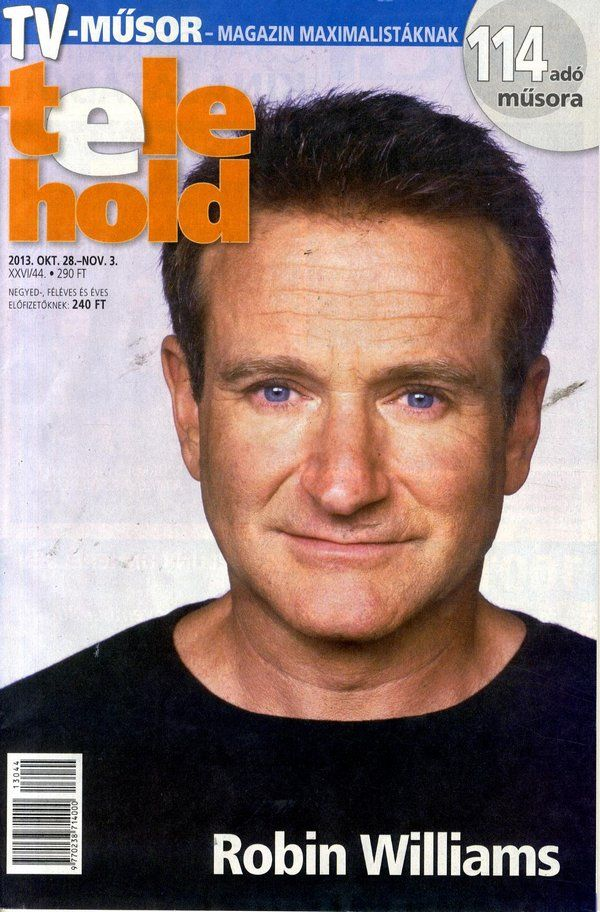 Robin Williams (2013.10.28. Telehold) #RobinWilliams