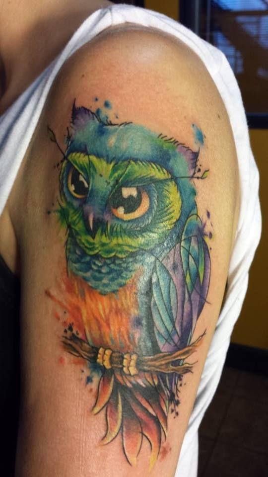 Tattoo Watercolor Ideas 31