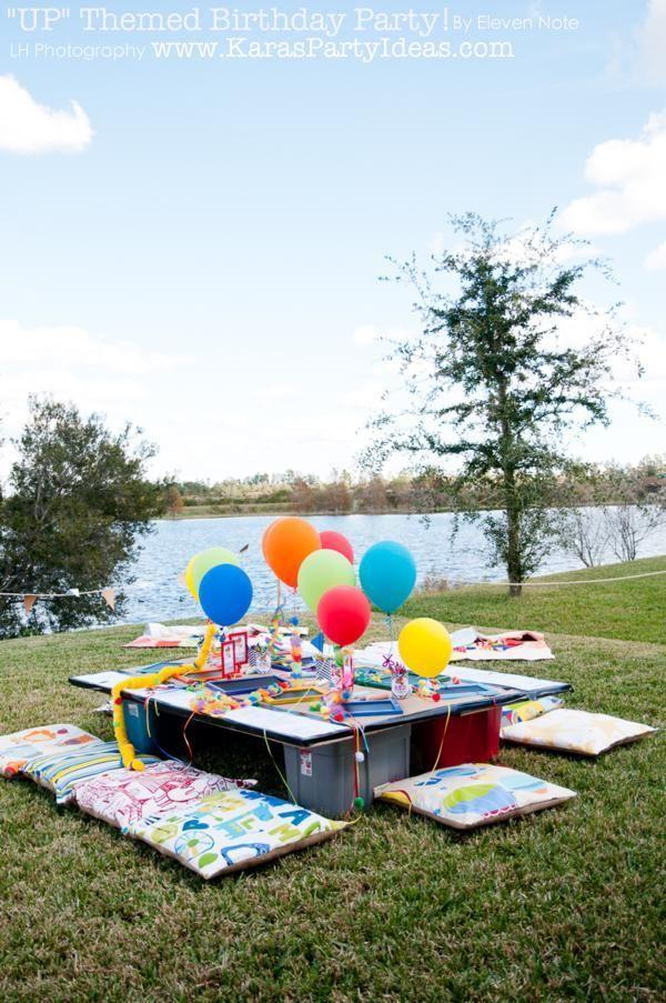 "Disney's ""UP"" themed birthday party via Kara's Party Ideas | KarasPartyIdeas.com"
