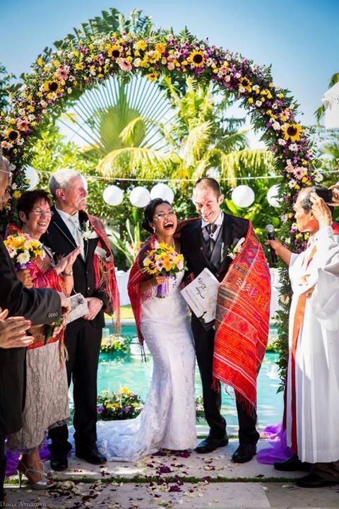 Rilly and Arne's Wedding - Holland and Batak Indonesia Unite. Mixed cultured weddings are great!