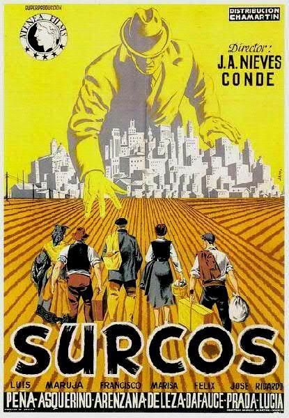 Surcos (1951) España. Dir.: José Antonio Nieves Conde. Drama. Vida rural. Posguerra. Neorrealismo - DVD CINE 2398