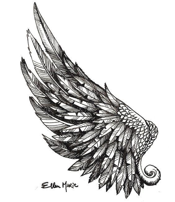 wing tattoo - Поиск в Google: