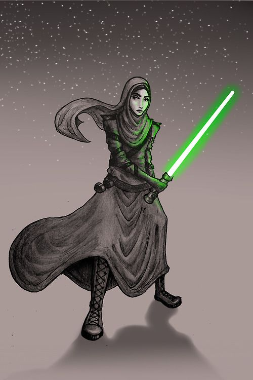 """""""Fear is the path to the Patriarchy."""" -Jedi Master Qahera"""