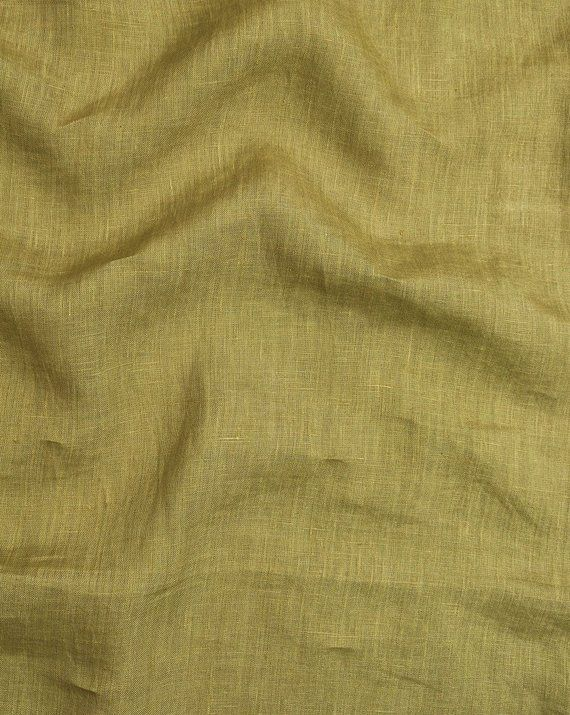 Width 58 Inch Olive Green 100 Premium Pure Linen Indian Fabric Fabric By The Yard Washed Linen 60 Le Quality Soft Fabric Fabriclore Pure Linen Olive Green Fabric
