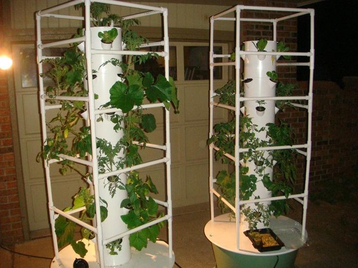 Aeroponic Tower Gardening Aeroponics Pinterest