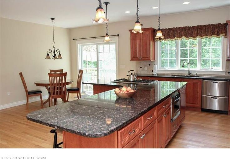 Craftsman Kitchen with Baltic Brown Granite, Oregon Tile & Marble, DishDrawer Double Dishwasher