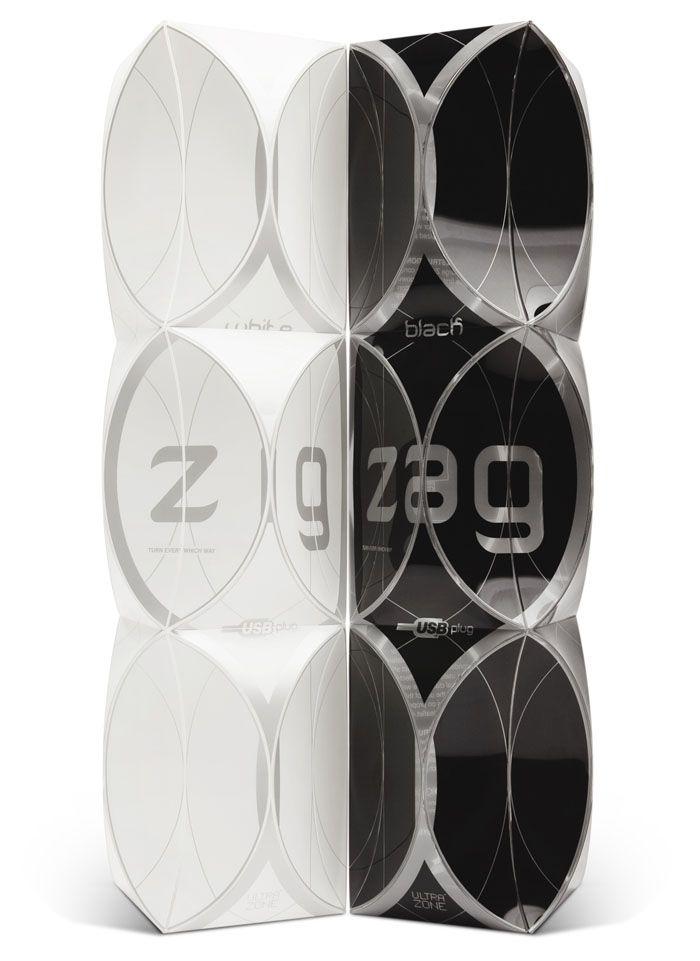 Zig Zag LuxuryVibrators - The Dieline -
