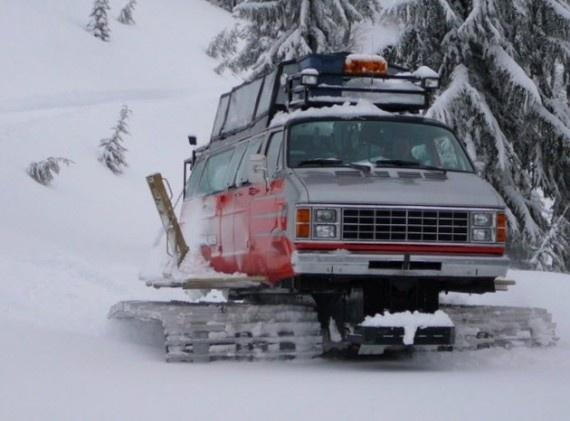 Vancat — An Awesome Snow Ride freshnessmag.com
