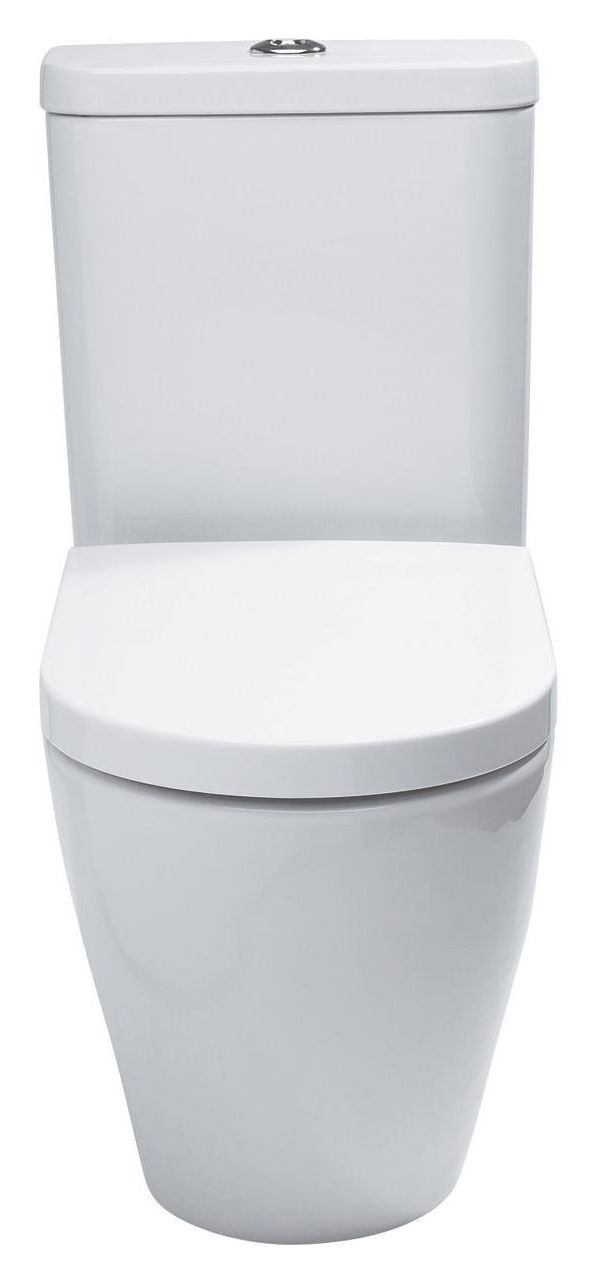 Cooke & Lewis Helena Close-Coupled Toilet with Soft Close Seat   Departments   DIY at B&Q