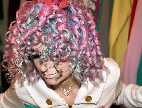 Candy+Curls+Hairstyles cotton candy curls hair - wild Pinterest