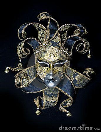 Venetian mask by Dmitry Rostovtsev, via Dreamstime