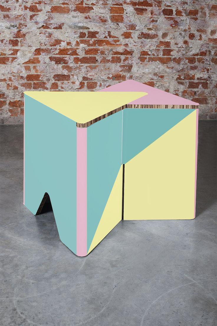 INFIX COLOR- Online store: www.cardboard.es #cardboard #furniture #eco #ecofriendly #reboard #design #ecohouse