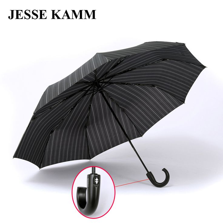 JESSE KAMM Tattoo hook business men personality display new pattern visual experience double umbrella #Affiliate