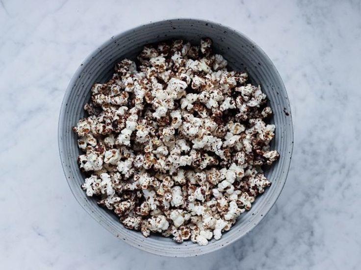 Rezept: Schoko-Popcorn selber machen / recipe: chocolate-popcorn via DaWanda.com
