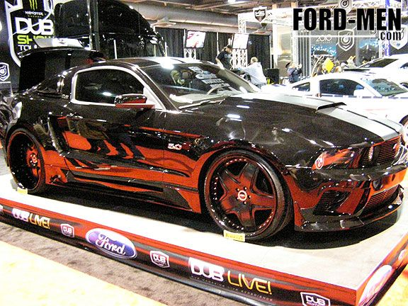 Tricked Out Mustang GT 5.0 | Fantasy Wheels | Pinterest ...