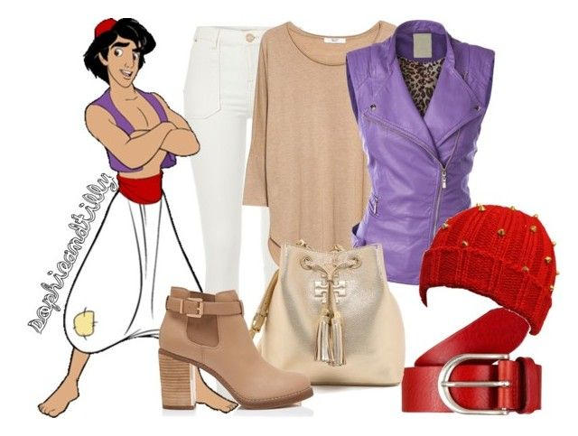 Aladdin by sophieandtilly liked on polyvore featuring for Tory burch fashion island