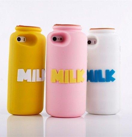 Новые Яблоко, телефон оболочки молочные бутылки iphone5/5S 5S творческий Гуй пластиковые защитный рукав молоко милые наборы мобильных телефон ...