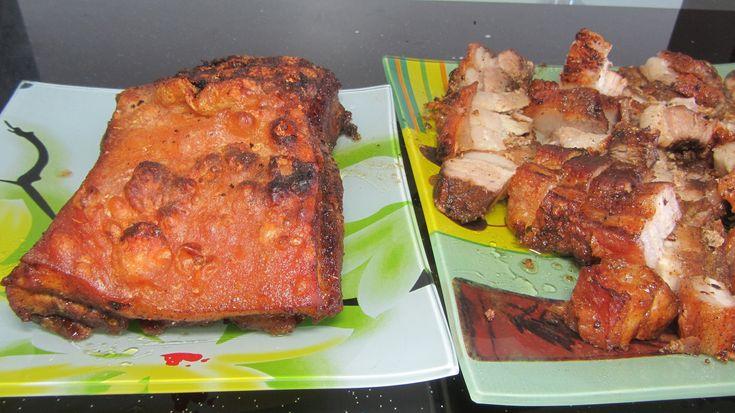 Жареная свинина с хрустящей корочкой вьетнамская кухня [LudaEasyCook]