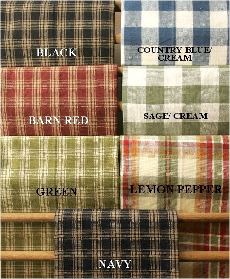 Window Treatments - Country Fair - Country Home Decor Accessories, Window Treatments, Kitchen & Bath Decor