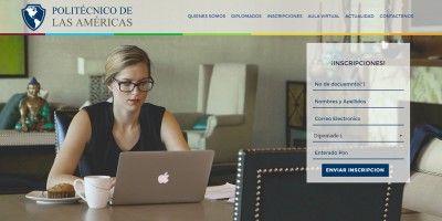 Sitio web P. de las Américas