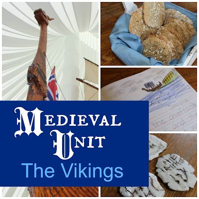 Medieval Unit: The Vikings (lots of links, books, and activities for the Vikings)