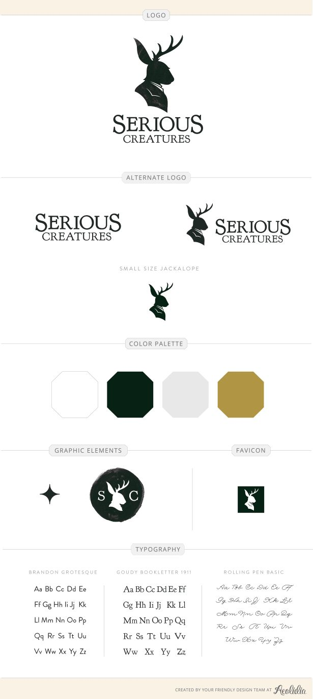 Serious Creatures design by Aeolidia
