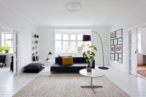 Grafikerens sort-hvide hjem