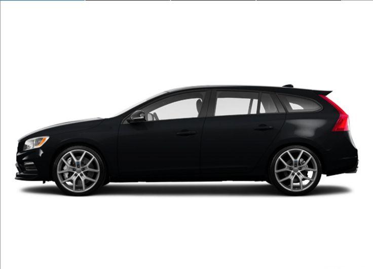 For Sale: 2016 #Volvo #V60 T6 #Polestar Wagon | Black Onyx Exterior | Maplewood, MN