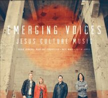 EMERGING VOICES. Emerging Voices is the newest release on the Jesus Culture Music label and features four up and coming worship leaders. Available from CUM Books.