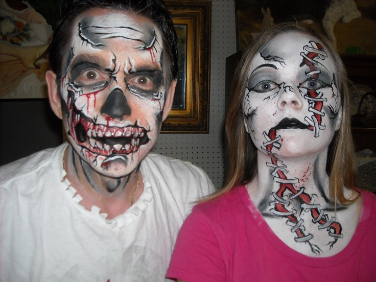 pinterest the worlds catalog of ideas - Zombie Halloween Faces