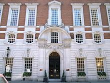 Hudson House, the Country Life offices in Southampton Street, London. Designed by Edwin Lutyens and built in 1904.