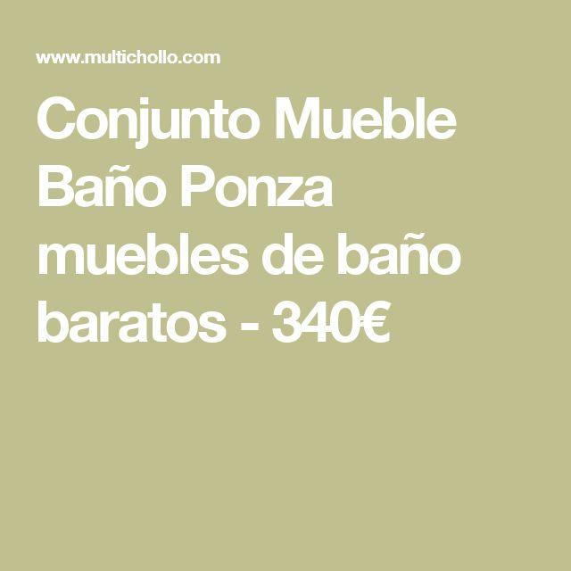 1000+ ideas about Muebles De Baño Baratos on Pinterest | Muebles ...