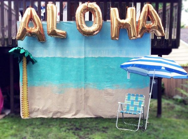 Photo Booth, Hazels Big Luau, The Cheerio Diaries, First Birthday, Luau, Hawaiian Theme, Aloha, Confetti and Sparkle Party SHop, The Cheerio Diaries