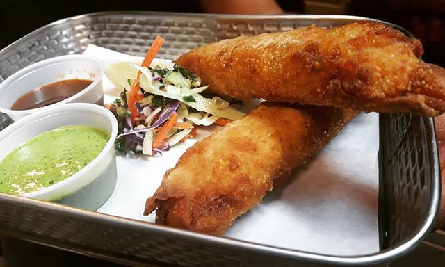 Chicken Kheema Eggrolls!  Tastydelicious Indian Fusion. With wholesome healthy ingredients prepared with lots of care and love!  Order delivery:https://goo.gl/GP38Wj  #restaurant #redmond #food #seattle #foodie #cocktails #indian #foodporn #bellevue #nomnomnom #fusion #delivery #dessert #yummy #theguilttriprestaurant #menu