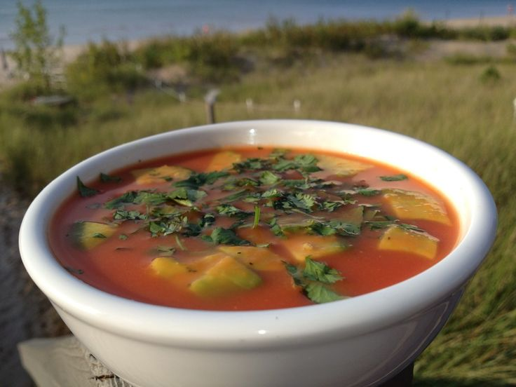 Thai-Inspired Chilled Watermelon Soup