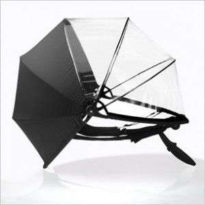 Nubrella, the futuristic umbrella