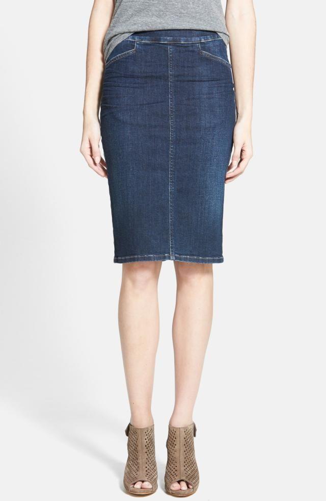 31 best Denim Skirts and Dresses images on Pinterest ...