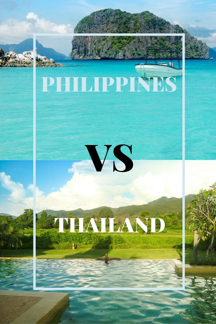 Which destination is better for your next trip? Check the latest comparison guide between Thailand and the Philippines to find where is the best place to travel