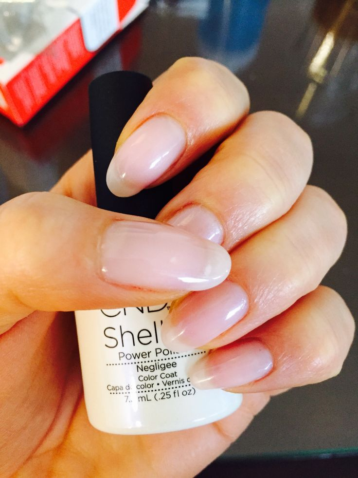 Beautiful Natural As Well As Soft Shimmering Cnd Shellac Negligee Glitter Gel Nails Gel