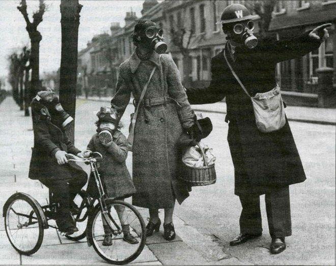 El ataque con agentes químicos trajo un gran miedo a las poblaciónes británica y francesas durante la Primer Guerra Mundial.