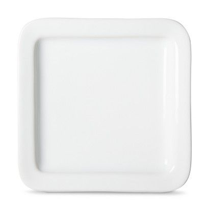 Threshold™ Casual Modern Appetizer Plate Set of 8 - White