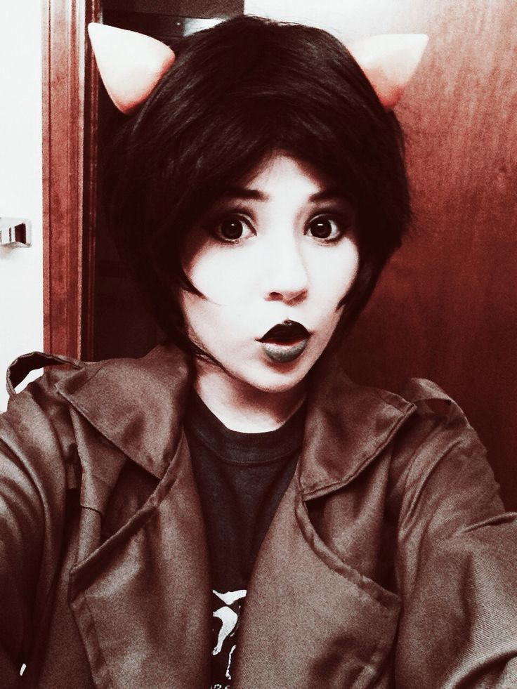 Nepeta Cosplay. Nepeta  looks good in a leather jacket.