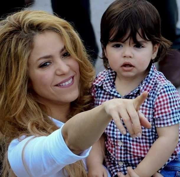 Milan y Shakira (Foto: EFE)