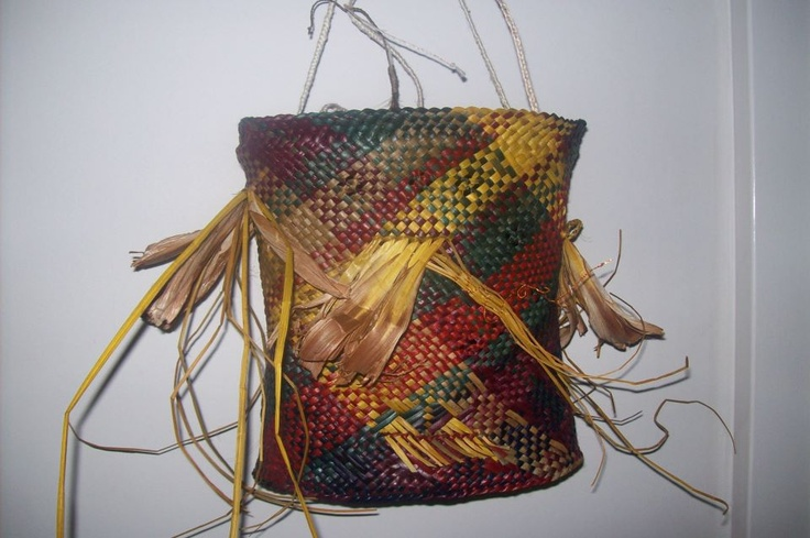 Alixene Curtis - traditional kete with modern spin