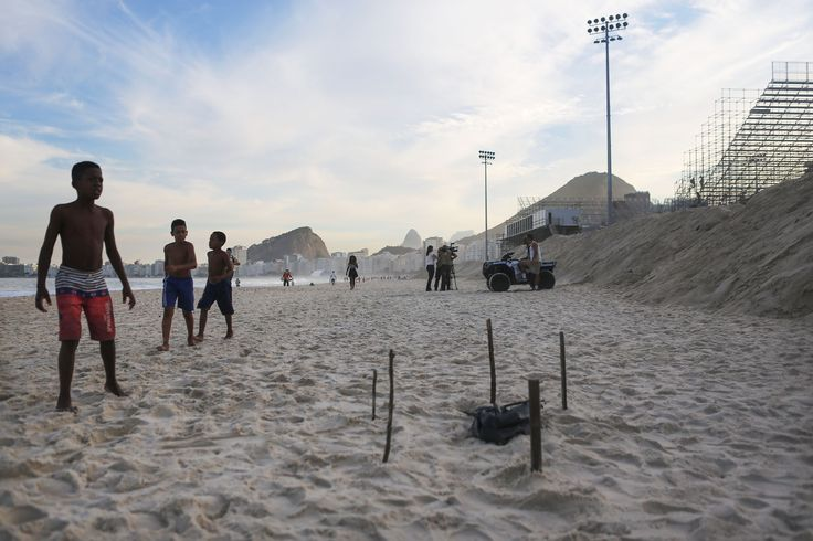 RIO DE JANEIRO – Parts of a dismembered body were found along Copacabana Beach in Rio de Janeiro Wednesday, just steps from where Olympic volleyball players will be competing this summer. A street …