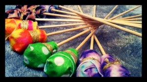 Easy DIY mallets for drums to use with the kids